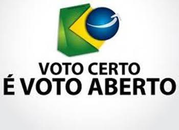 voto certo e voto aberto